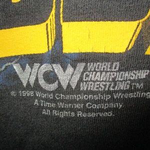 Shirts - Vtg 1998 WCW Bill Goldberg Sleeveless T-Shirt M/L